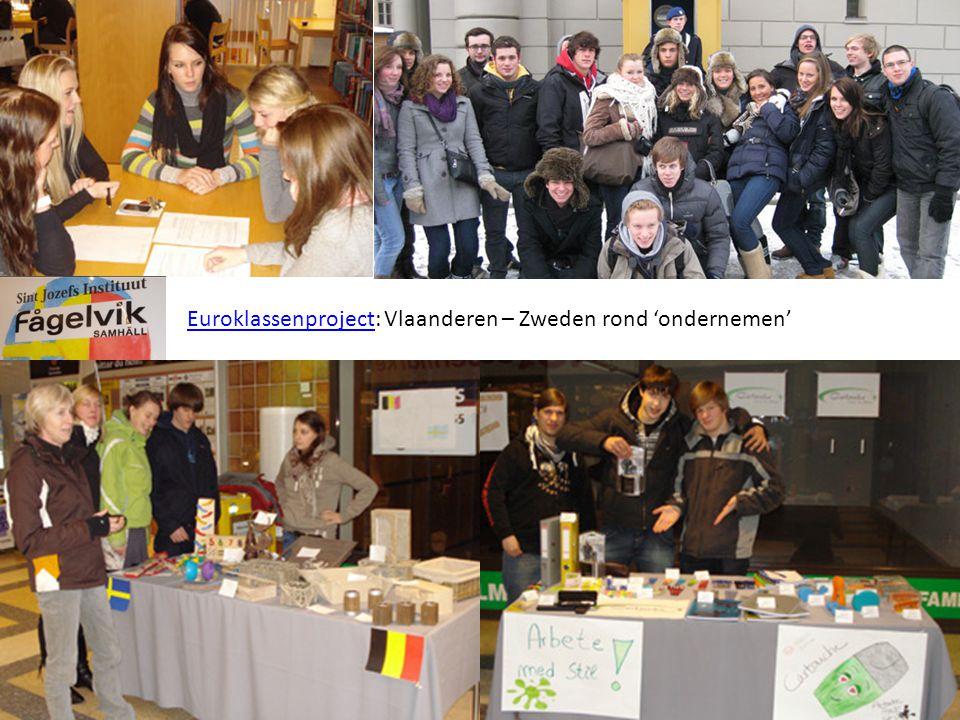 EuroklassenprojectEuroklassenproject: Vlaanderen – Zweden rond 'ondernemen'