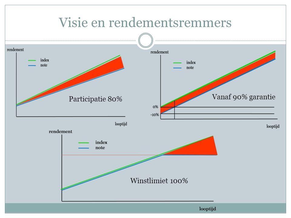 Visie en rendementsremmers Participatie 80% Vanaf 90% garantie Winstlimiet 100%