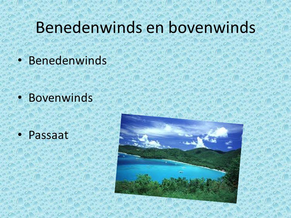 Benedenwinds en bovenwinds Benedenwinds Bovenwinds Passaat