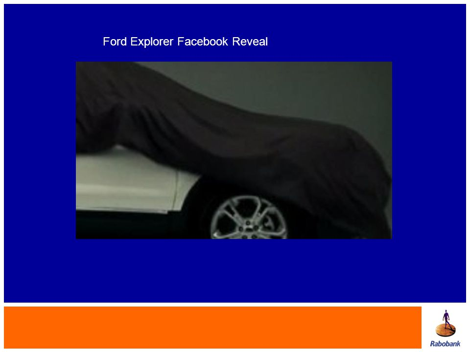 Ford Explorer Facebook Reveal
