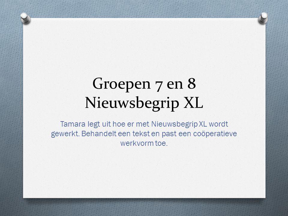 Groepen 7 en 8 Nieuwsbegrip XL Tamara legt uit hoe er met Nieuwsbegrip XL wordt gewerkt.
