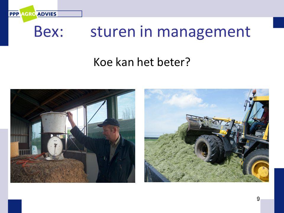 Bex:sturen in management Koe kan het beter? 9