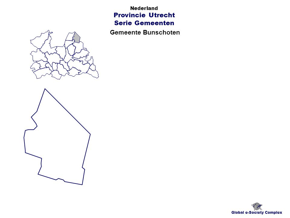 Gemeente Bunschoten Global e-Society Complex Nederland Provincie Utrecht Serie Gemeenten