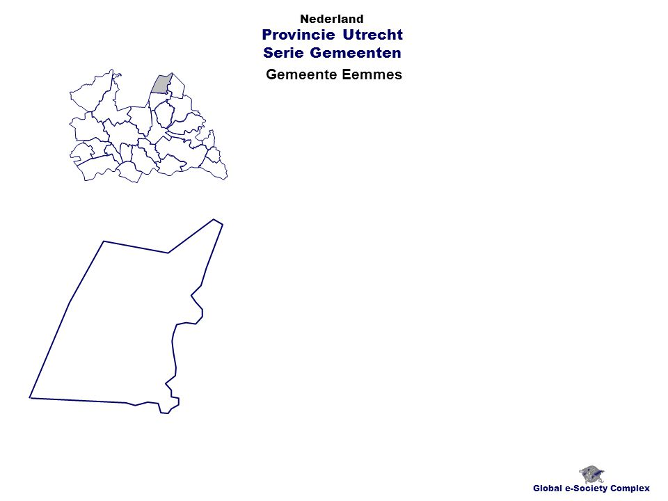 Gemeente Eemmes Global e-Society Complex Nederland Provincie Utrecht Serie Gemeenten