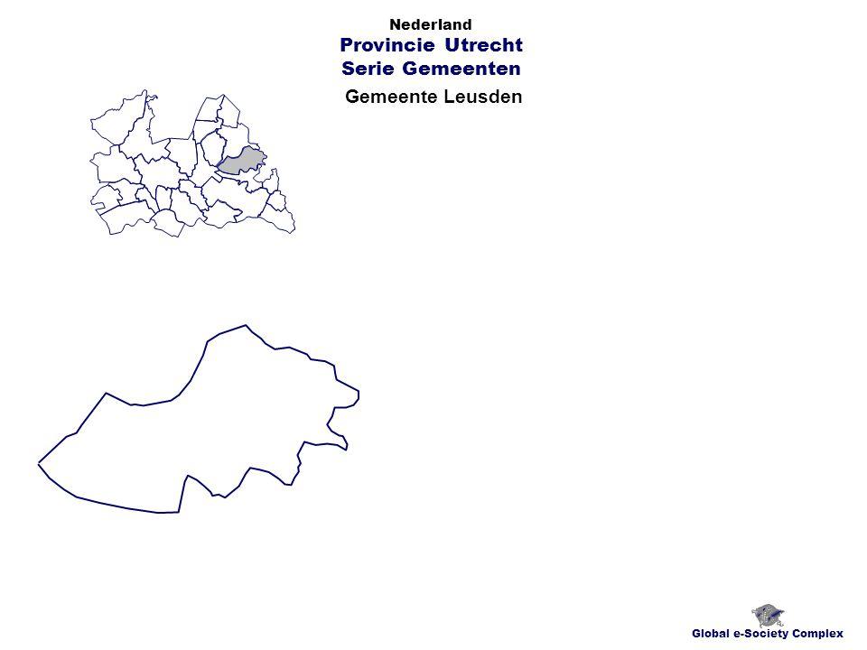 Gemeente Leusden Global e-Society Complex Nederland Provincie Utrecht Serie Gemeenten