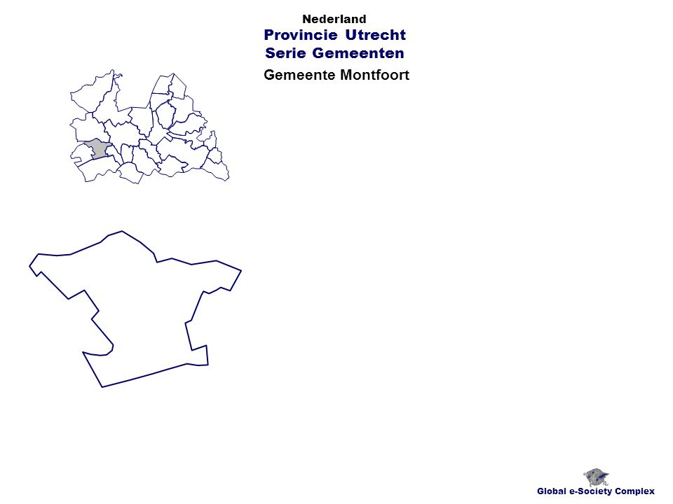 Gemeente Montfoort Global e-Society Complex Nederland Provincie Utrecht Serie Gemeenten