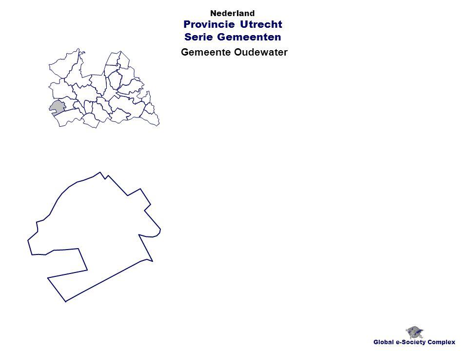 Gemeente Oudewater Global e-Society Complex Nederland Provincie Utrecht Serie Gemeenten