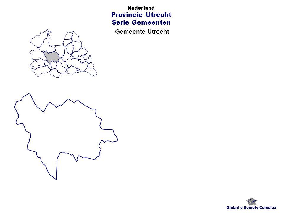 Gemeente Utrecht Global e-Society Complex Nederland Provincie Utrecht Serie Gemeenten