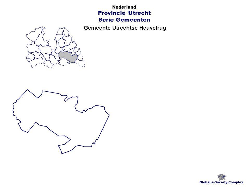 Gemeente Utrechtse Heuvelrug Global e-Society Complex Nederland Provincie Utrecht Serie Gemeenten