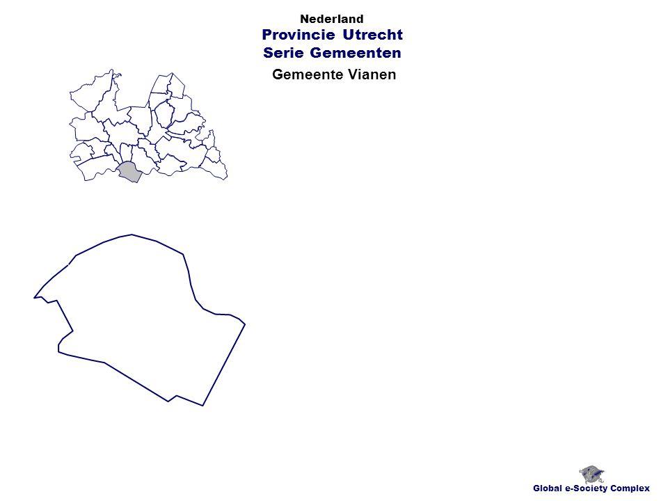 Gemeente Vianen Global e-Society Complex Nederland Provincie Utrecht Serie Gemeenten