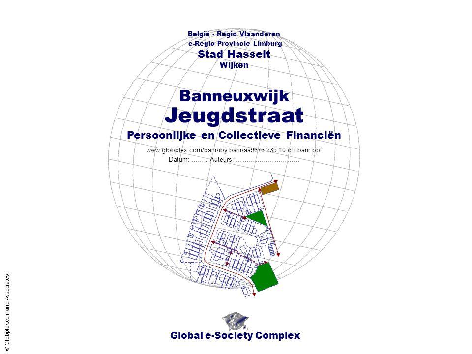 België - Regio Vlaanderen - e-Regio Provincie Limburg - Stad Hasselt - Wijken Banneuxwijk Jeugdstraat - Financiën Inhoud Global e-Society Complex www.globplex.com