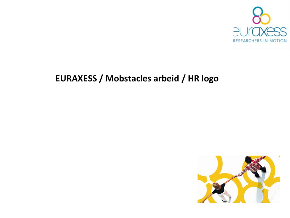 EURAXESS / Mobstacles arbeid / HR logo