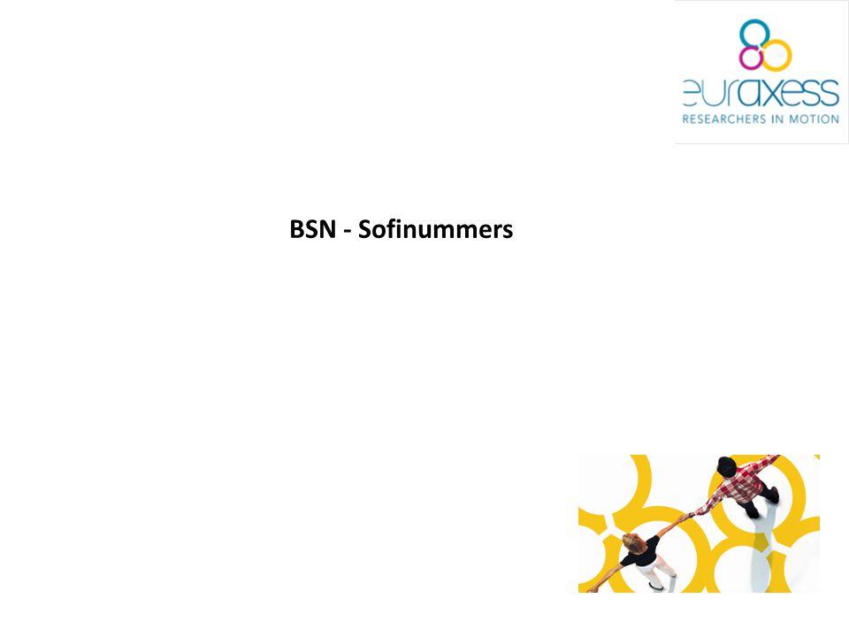 BSN - Sofinummers