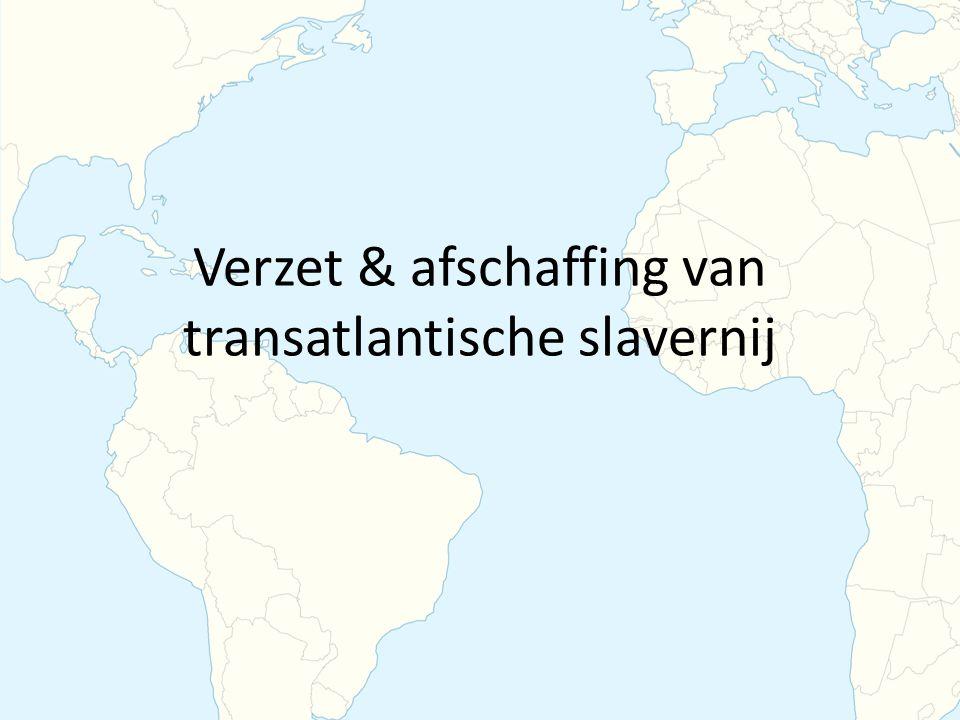 Verzet & afschaffing van transatlantische slavernij