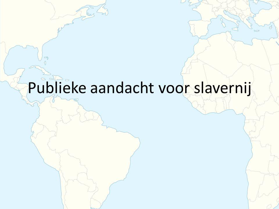 Publieke aandacht voor slavernij