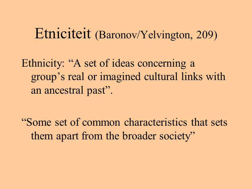 Eigenschap van Caraibische cultuur.Intellectuelen spreken vaak 'vanuit buitenland' (b.v.