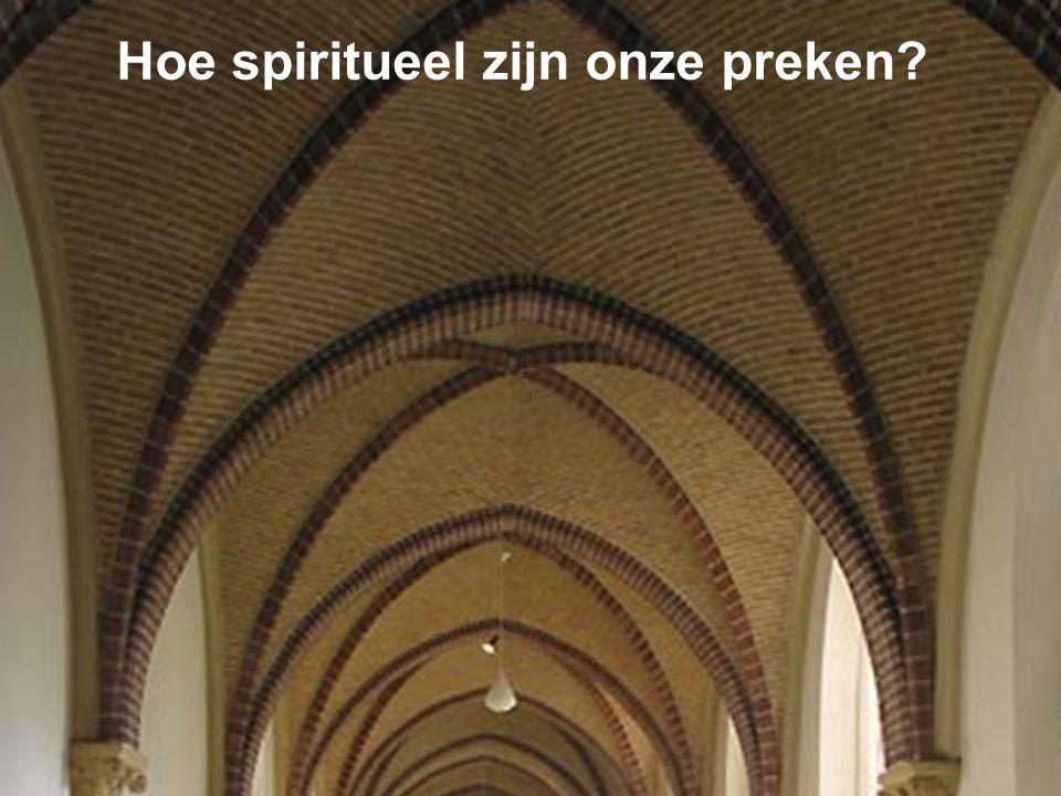 Spiritualiteit Spirituele homiletiek