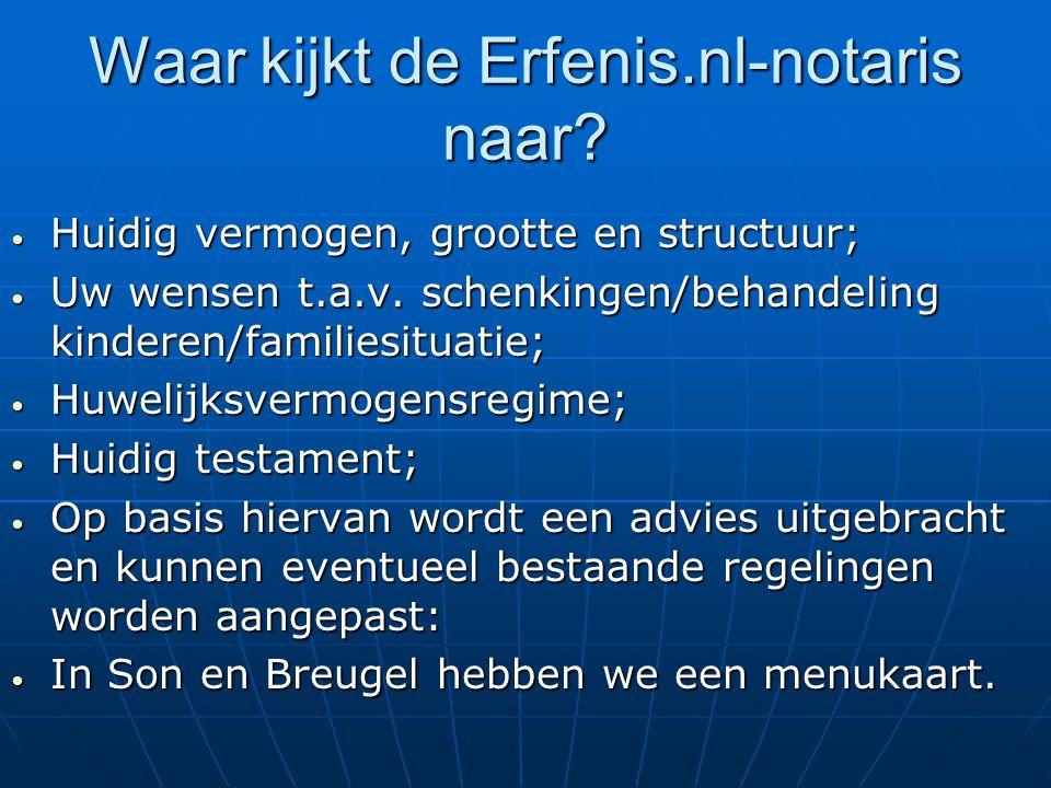 Waar kijkt de Erfenis.nl-notaris naar.