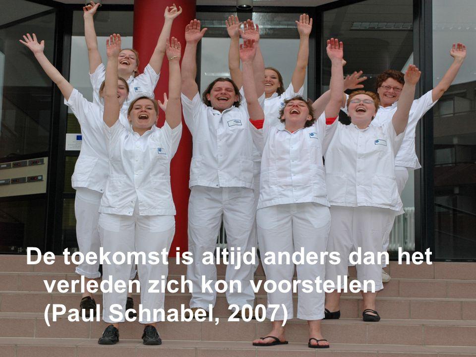 De toekomst is altijd anders dan het verleden zich kon voorstellen (Paul Schnabel, 2007)