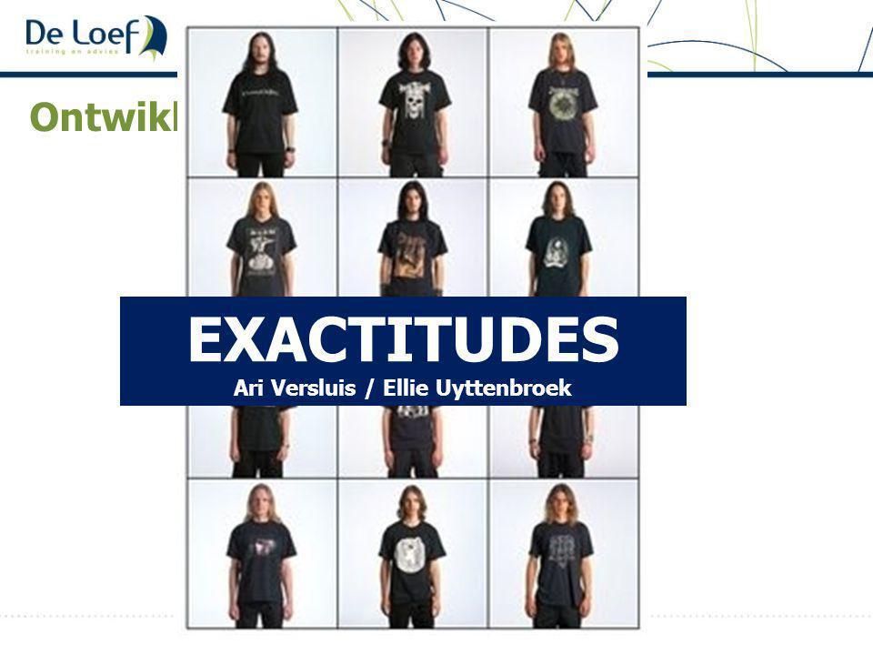 EXACTITUDES Ari Versluis / Ellie Uyttenbroek