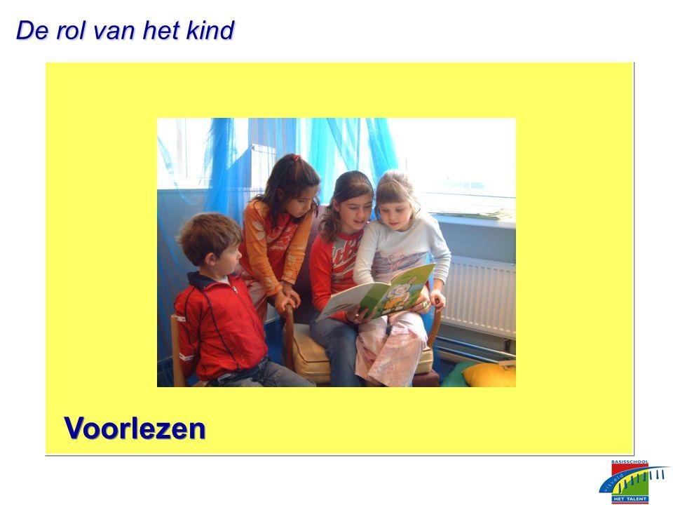 De rol van het kind De rol van het kind Voorlezen