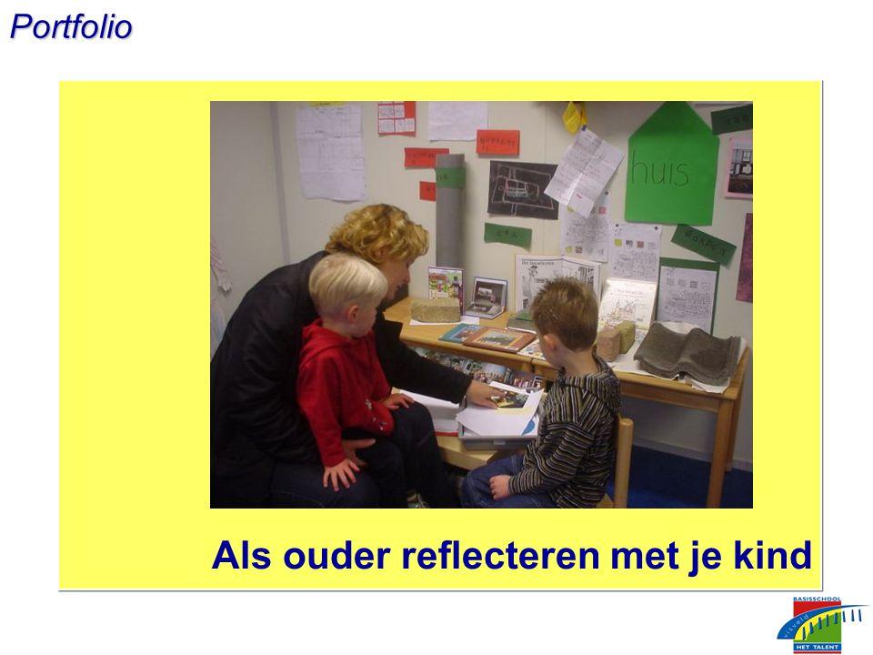 Portfolio Als ouder reflecteren met je kind