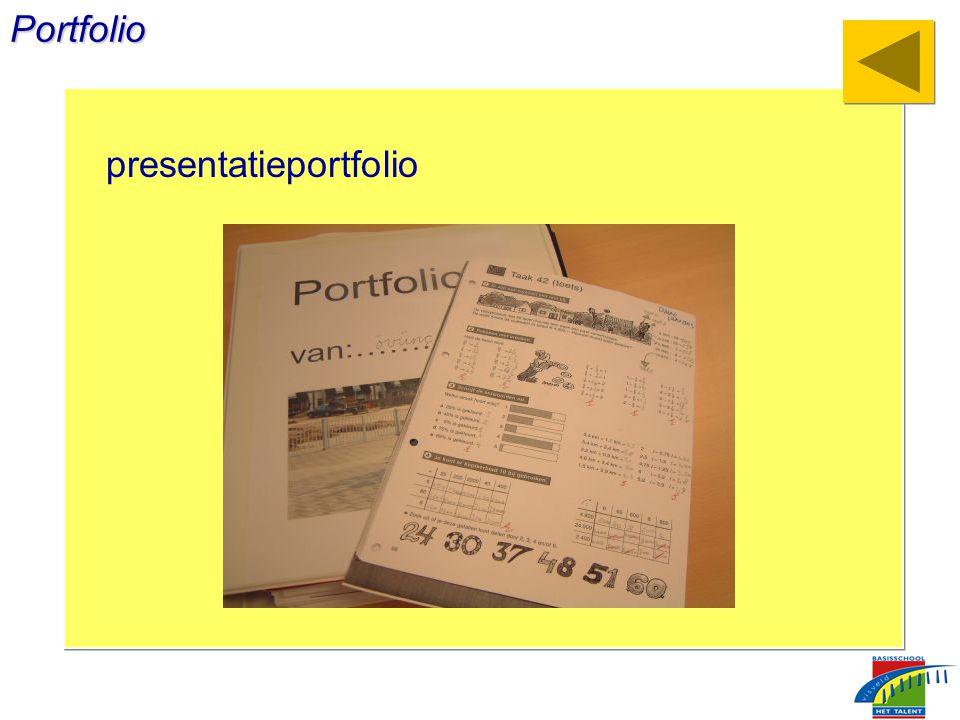 Portfolio presentatieportfolio