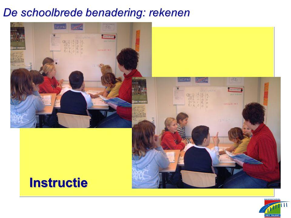 Instructie De schoolbrede benadering: rekenen