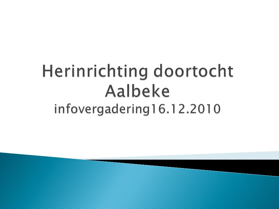 Fase 4 : zone Knokstraat richting Kortrijk 40 wkd