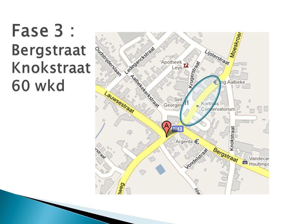 Fase 3 : Bergstraat Knokstraat 60 wkd