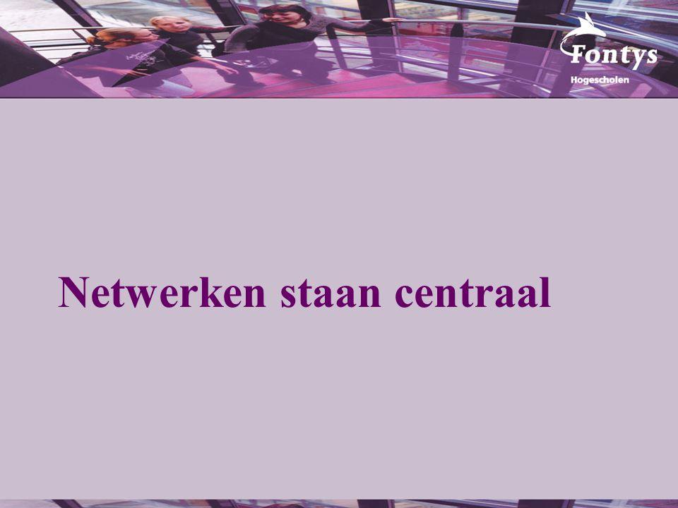 Netwerken staan centraal