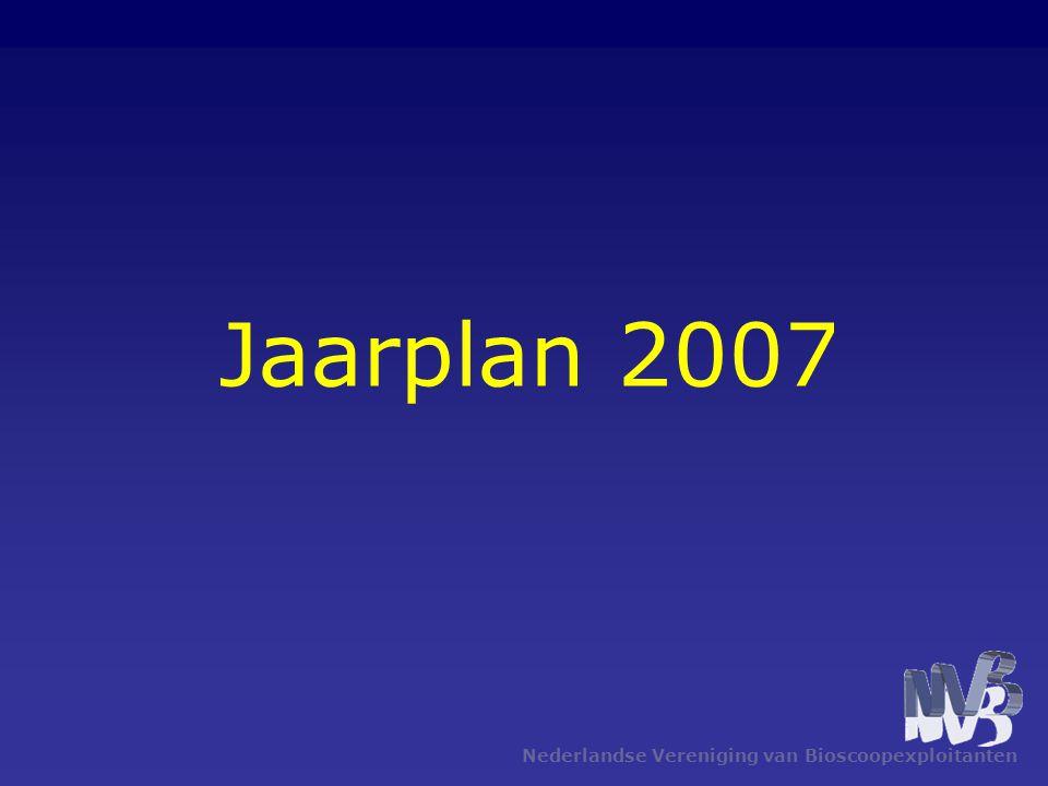 Jaarplan 2007 Nederlandse Vereniging van Bioscoopexploitanten