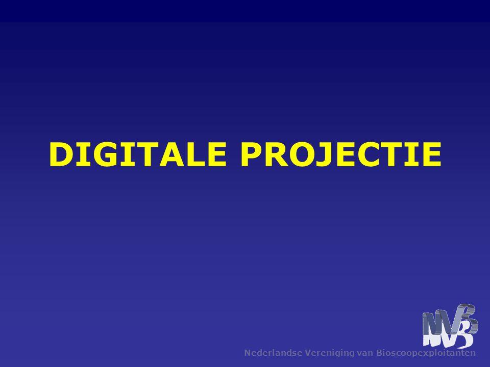 Nederlandse Vereniging van Bioscoopexploitanten DIGITALE PROJECTIE