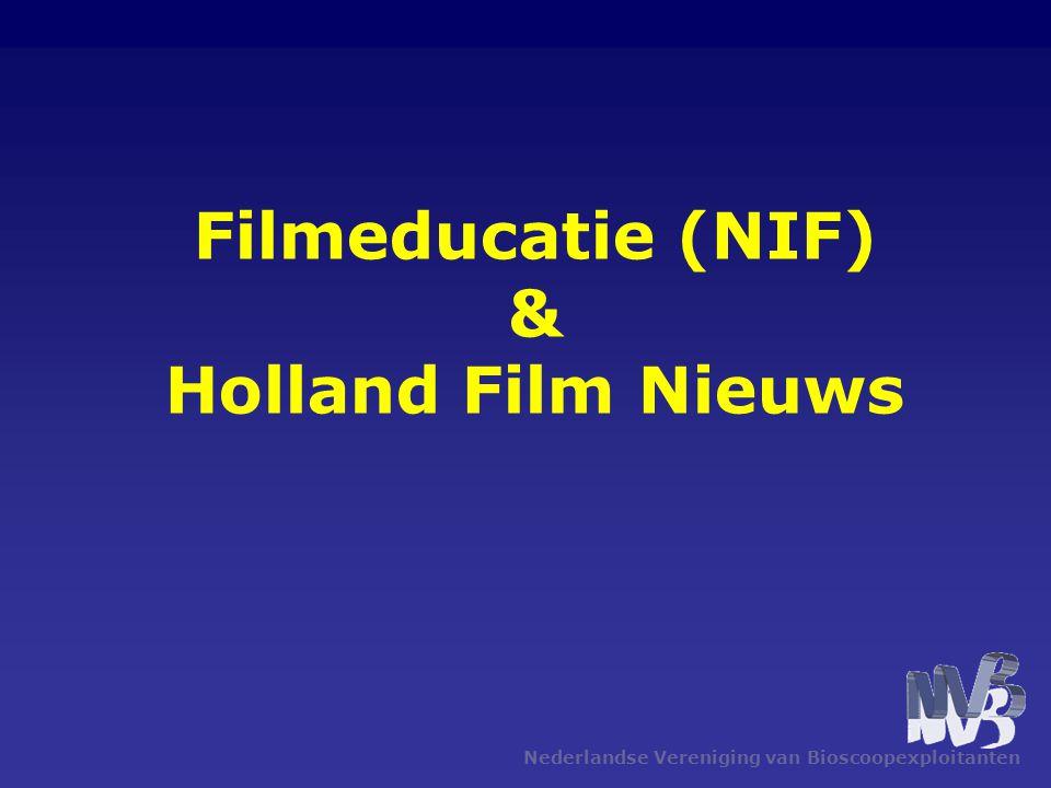 Nederlandse Vereniging van Bioscoopexploitanten Filmeducatie (NIF) & Holland Film Nieuws