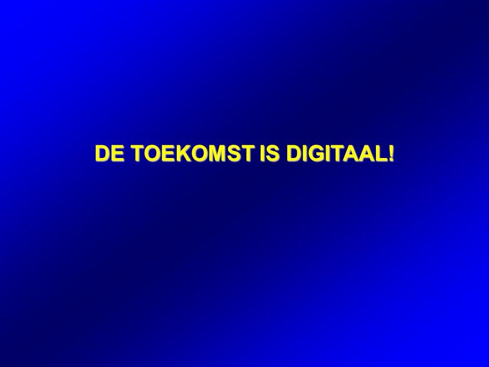 DE TOEKOMST IS DIGITAAL!