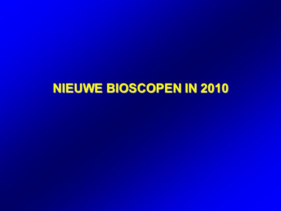 NIEUWE BIOSCOPEN IN 2010