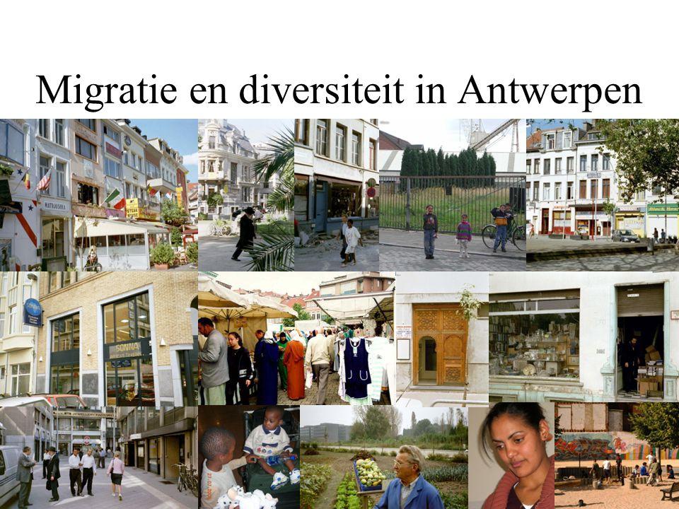 Migratie en diversiteit in Antwerpen