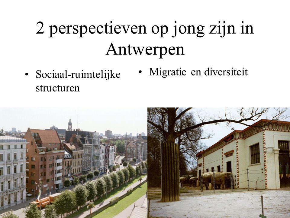 De sociaal-ruimtelijke structurering van het stadsgewest GENTRIFICATIE SUBURBANISATIE