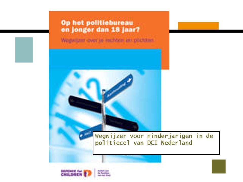Wegwijzer voor minderjarigen in de politiecel van DCI Nederland