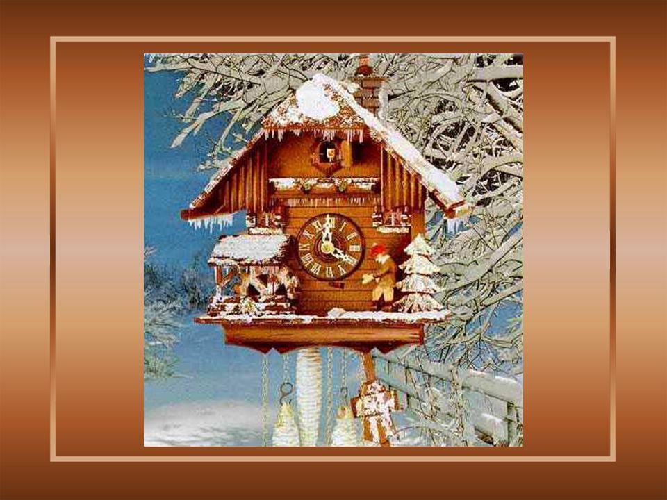 Het is tijdens de winter van 1796, Dat deze eenvoudige kunstenaar dit eerste klokje sculpteerde om het kado te geven aan de burgemeester, de graaf Hanspeter Waldoffer.