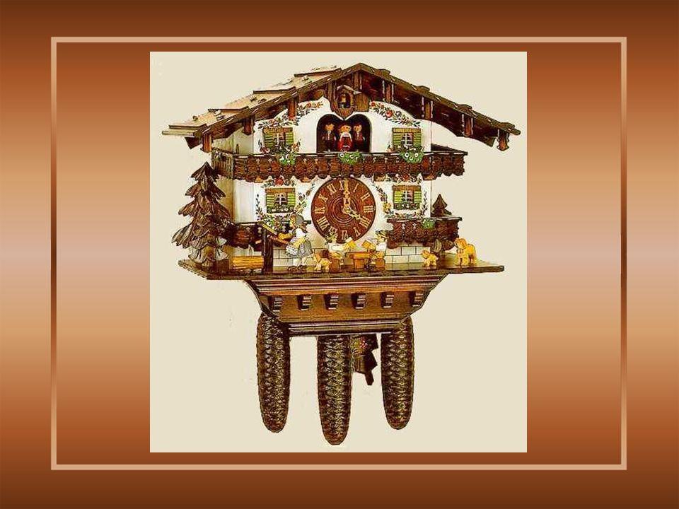 De klokjes van die tijd waren zeer rudimentair, het mechanisme was in hout gemaakt..