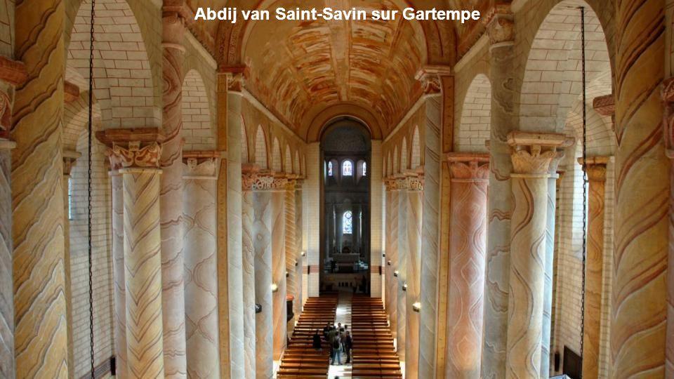 Abdij van Saint-Savin sur Gartempe