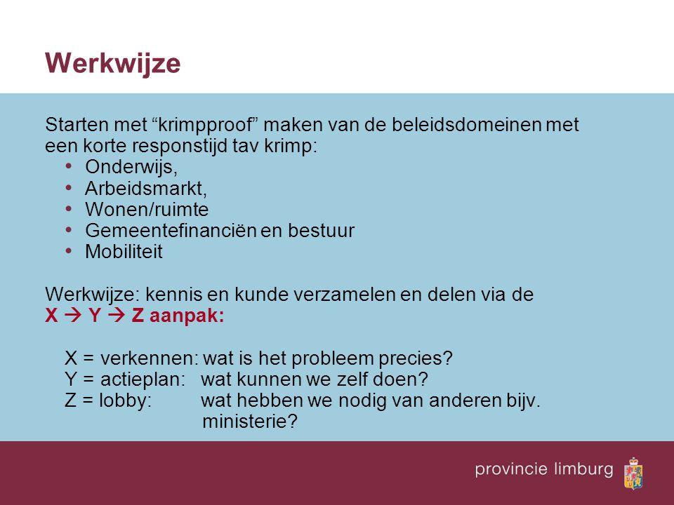 OnderwijsArbeidsmarktWonen Ruimte Financiën gemeenten Mobiliteit EUROPA GEMEENTEN RIJK Bedrijven Maatsch.