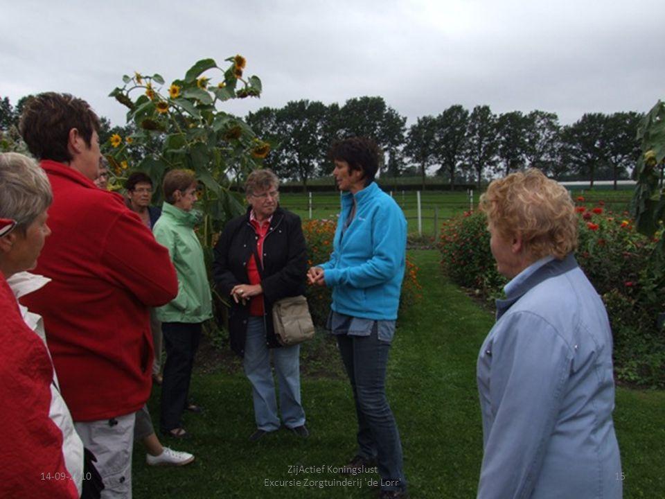 14-09-201015 ZijActief Koningslust Excursie Zorgtuinderij 'de Lorr'