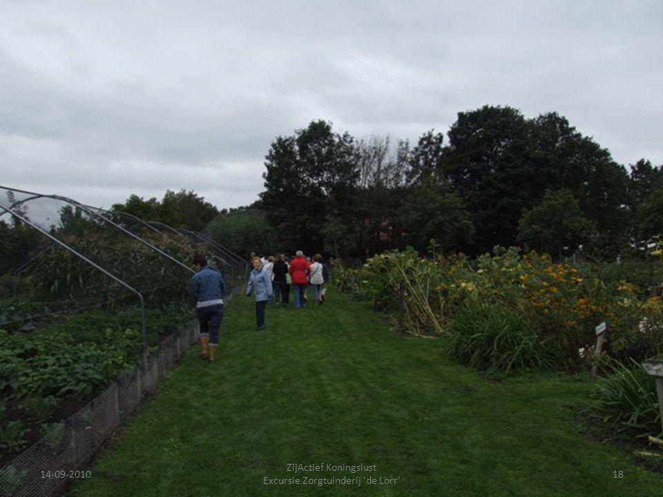 14-09-201018 ZijActief Koningslust Excursie Zorgtuinderij 'de Lorr'