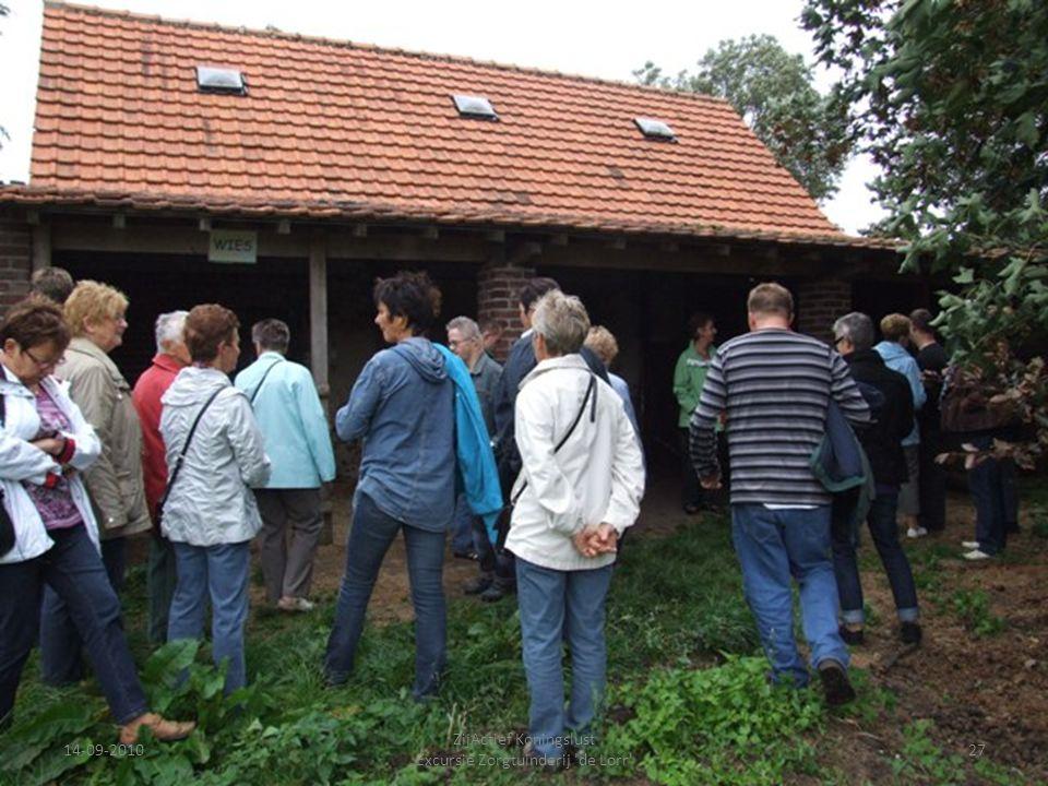 14-09-201027 ZijActief Koningslust Excursie Zorgtuinderij 'de Lorr'