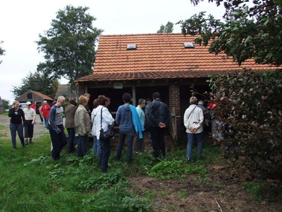 14-09-201028 ZijActief Koningslust Excursie Zorgtuinderij 'de Lorr'