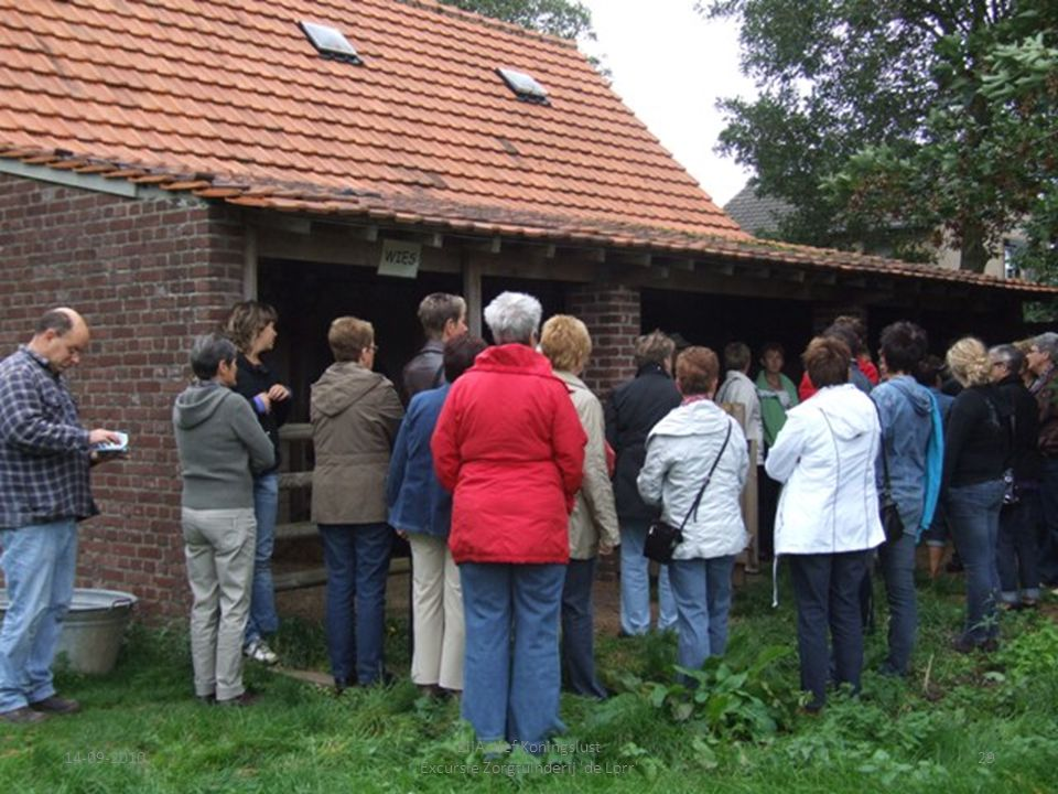 14-09-201029 ZijActief Koningslust Excursie Zorgtuinderij 'de Lorr'