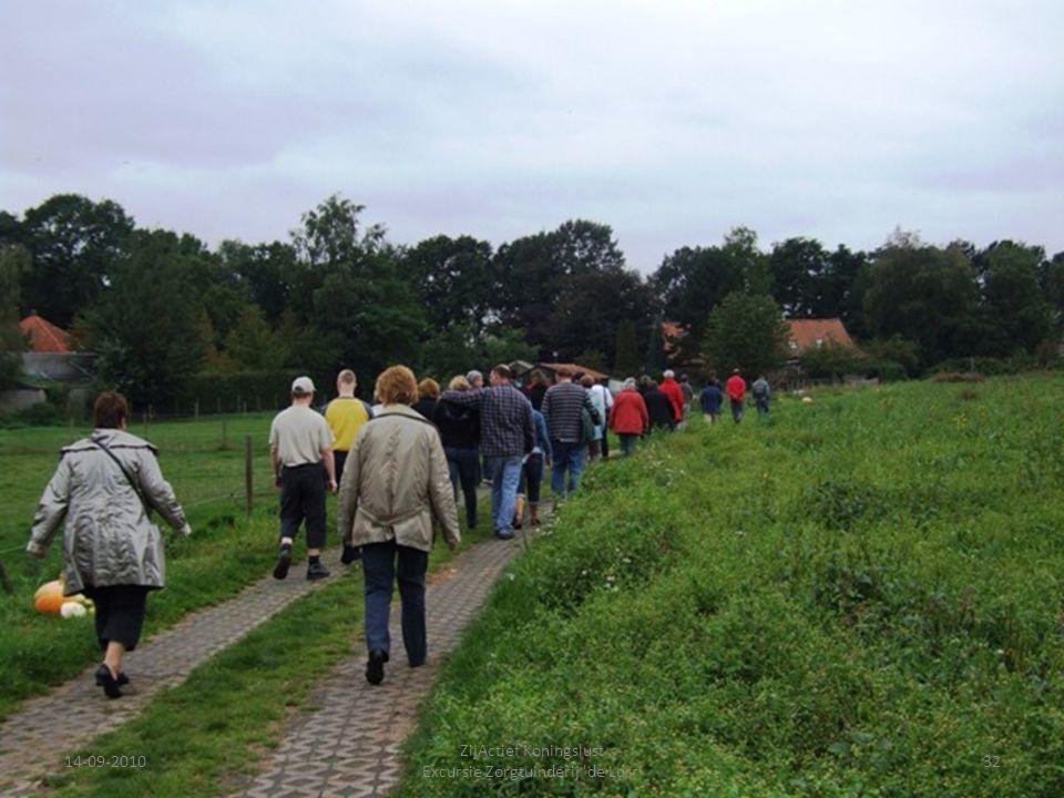 14-09-201032 ZijActief Koningslust Excursie Zorgtuinderij 'de Lorr'