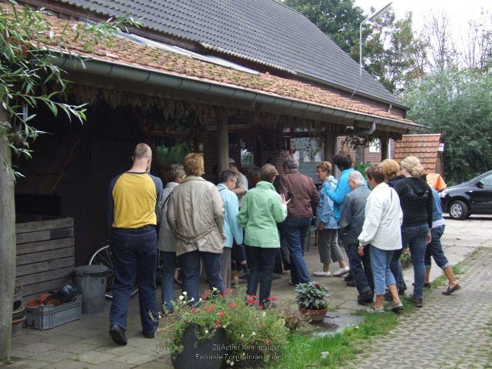 14-09-201033 ZijActief Koningslust Excursie Zorgtuinderij 'de Lorr'